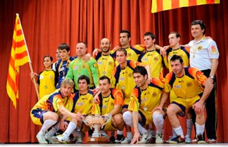 Campionat d'Espanya sub 16 de futbol sala a Mataró